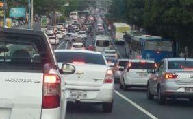 [Manifestação na Cidade Baixa deixa trânsito congestionado; confira]
