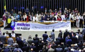 [Deputados rejeitam cota para mulheres no Legislativo; confira votação de baianos]