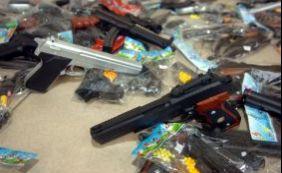 [Polícia prende garoto que agia com arma de brinquedo em Castelo Branco]