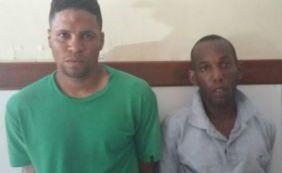 [Polícia prende assaltantes de carro que agiam em Salvador e no interior ]