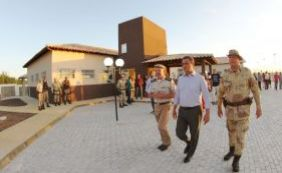 [Governador visita sedes da Polícia Militar no Sudoeste do Estado]