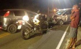 [Após invadir contramão, motorista colide com veículo e mata mulher em Lauro]
