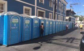 [Limpurb diz que banheiros químicos devem preservar casarões no Rio Vemelho]