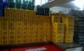 [Cerca de seis mil latas de cerveja são apreendidas pela Sucom em Salvador]