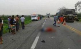 [Acidente envolvendo carro e moto deixa dois mortos na BR-116]