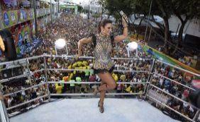 [Ivete, BaianaSystem e Luiz Caldas desfilam neste 3º dia de Carnaval; confira]