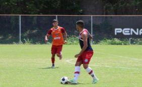 [Bahia realiza jogo treino contra time Sub-20; Jacó marca dois]