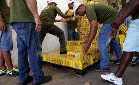 [Sucom apreende mais de 105 mil cervejas em depósito em Nazaré]