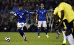 [Sem inspiração, Brasil amarga derrota para a Colômbia por 1 a 0]