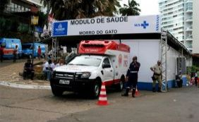 [Quase 4 mil pessoas já foram atendidas nos módulos de saúde do Carnaval]