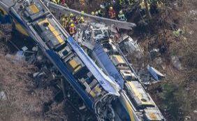 [Choque de trens mata pelo menos nove pessoas e fere 150 na Alemanha]