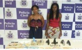 [Traficantes são presas com drogas que seriam comercializadas no Carnaval ]