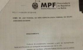 [Denúncia do MPF contra ex-presidentes do Vitória é arquivada]