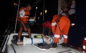 [Passageiro passa mal dentro de navio e é socorrido pelo Salvamar em Ilhéus]