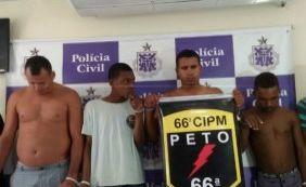 [Polícia prende 13 pessoas e apreende 6kg de pedras preciosas na Bahia]