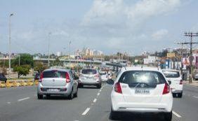 [Motoristas enfrentam engarrafamento na Via Expressa e região; confira o trânsito]