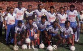 [Em 1988, Bahia conquistava o Campeonato Brasileiro ao empatar com o Inter]