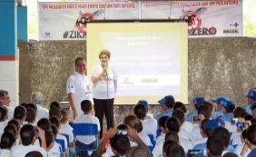 [Dilma lança campanha contra Aedes para alunos da PM em Juazeiro]