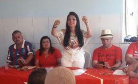 [Moema Gramacho anuncia pré-candidatura em Lauro de Freitas]