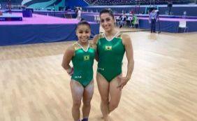 [Brasil conquista dois ouros com a ginástica artística em torneiro no Azerbaijão]