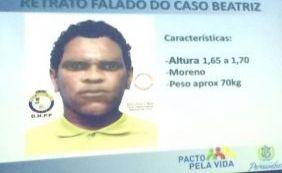 [Polícia divulga retrato falado de suspeito de assassinar menina em Petrolina]