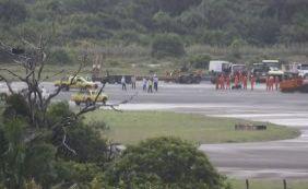 [Aeroporto passa por manutenção das pistas a partir desta segunda]