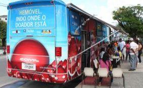 [Hemóvel atende nos shoppings Salvador Norte e Barra até esta sexta-feira ]