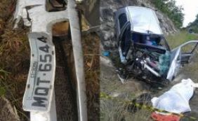 [Mulher de 50 anos morre em acidente de carro em Nova Viçosa]