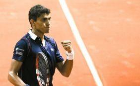 [Atual 278 do mundo, Thiago Monteiro alcança as quartas do Brasil Open]