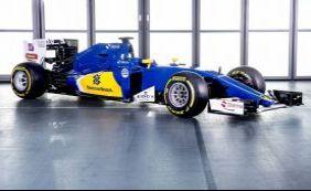 [Sauber, do piloto brasileiro Felipe Nasr, apresenta carro para a temporada]