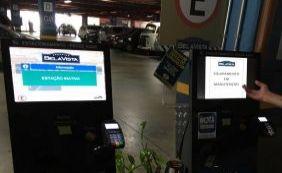 [Terminais de estacionamento quebram e causam caos no Shopping Bela Vista]