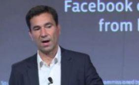 """[""""Estamos desapontados"""", diz Facebook sobre prisão de vice-presidente]"""