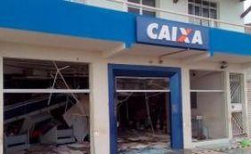 [Grupo explode caixas eletrônicos e destroem agências bancárias no interior]