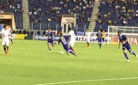 [Com dois gols de Hernane, Bahia vence o Confiança por 3 a 0 no Nordestão]