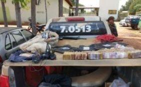 [Polícia encontra esconderijo de suspeitos de arrombar bancos em Santa Rita]