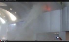 [Princípio de incêndio atingiu Aeroporto de Salvador; assista]