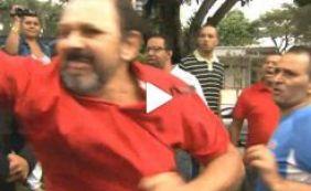 [Durante Operação da PF, protesto acontece em frente ao prédio que Lula mora]