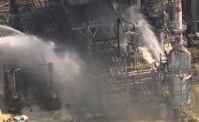 [Refinaria da Petrobras é incendiada em Pasadena, no Texas]