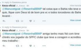 [Depois de elogiar tentativas do Bahia em mantê-lo, Kieza critica o tricolor]