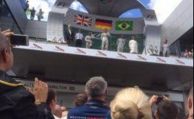 [Felipe Massa fica em terceiro lugar no GP da Áustria]