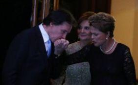 [Presidente Dilma vai a casamento de filha de líder do PMDB]