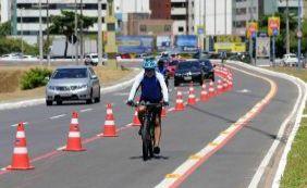 [Prefeitura promove passeio de bike na orla para alertar violência contra meninas]