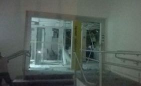 [Bandidos explodem agência bancária e assustam população em Nova Soure]