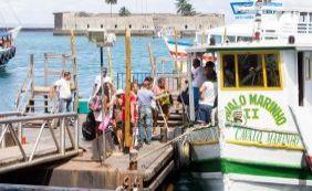 [Travessia Salvador-Mar Grande será suspensa às 11h30 por conta da maré baixa]