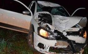 [Homem morre após ser atropelado por carro na BR-242]