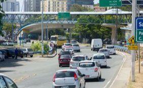 [Semáforos quebrados complicam o trânsito nesta segunda-feira ]