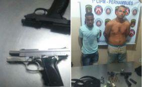 [Dupla envolvida em tentativa de assalto no Bela Vista teria usado arma da PM]