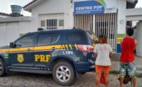[PRF resgata mulher e adolescente do Piauí que seguiriam a pé até São Paulo]
