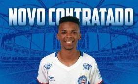 [Bahia anuncia a contratação do atacante Henrique, ex-Paraná]