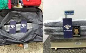 [Jovem de 25 anos é preso com 10kg de droga em mala no aeroporto de Salvador]